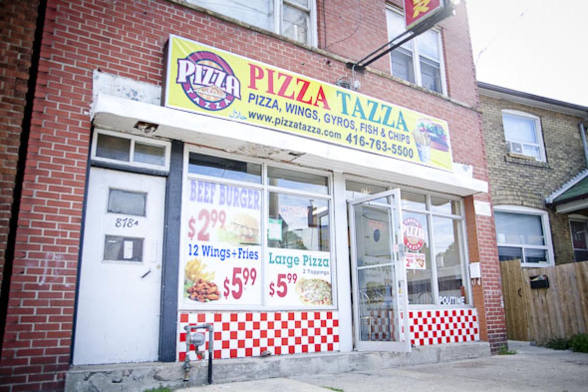pizza tazza Toronto