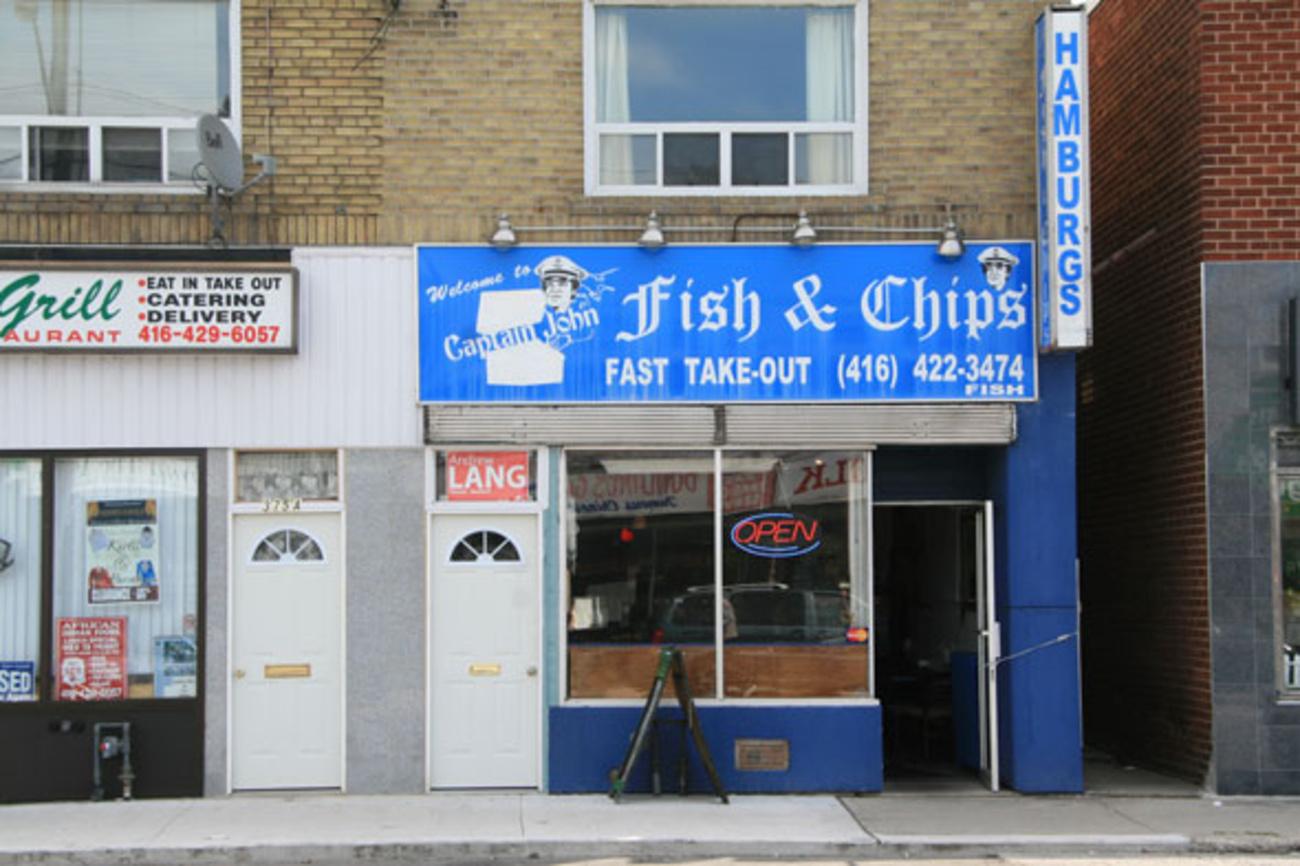 Captain John's Fish and Chips (Donlands) - blogTO - Toronto