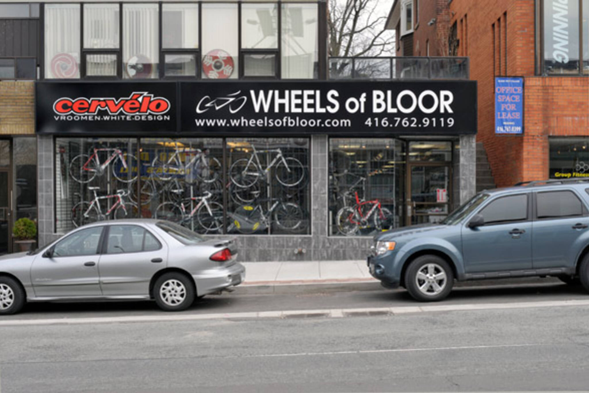 Wheels of Bloor bikes