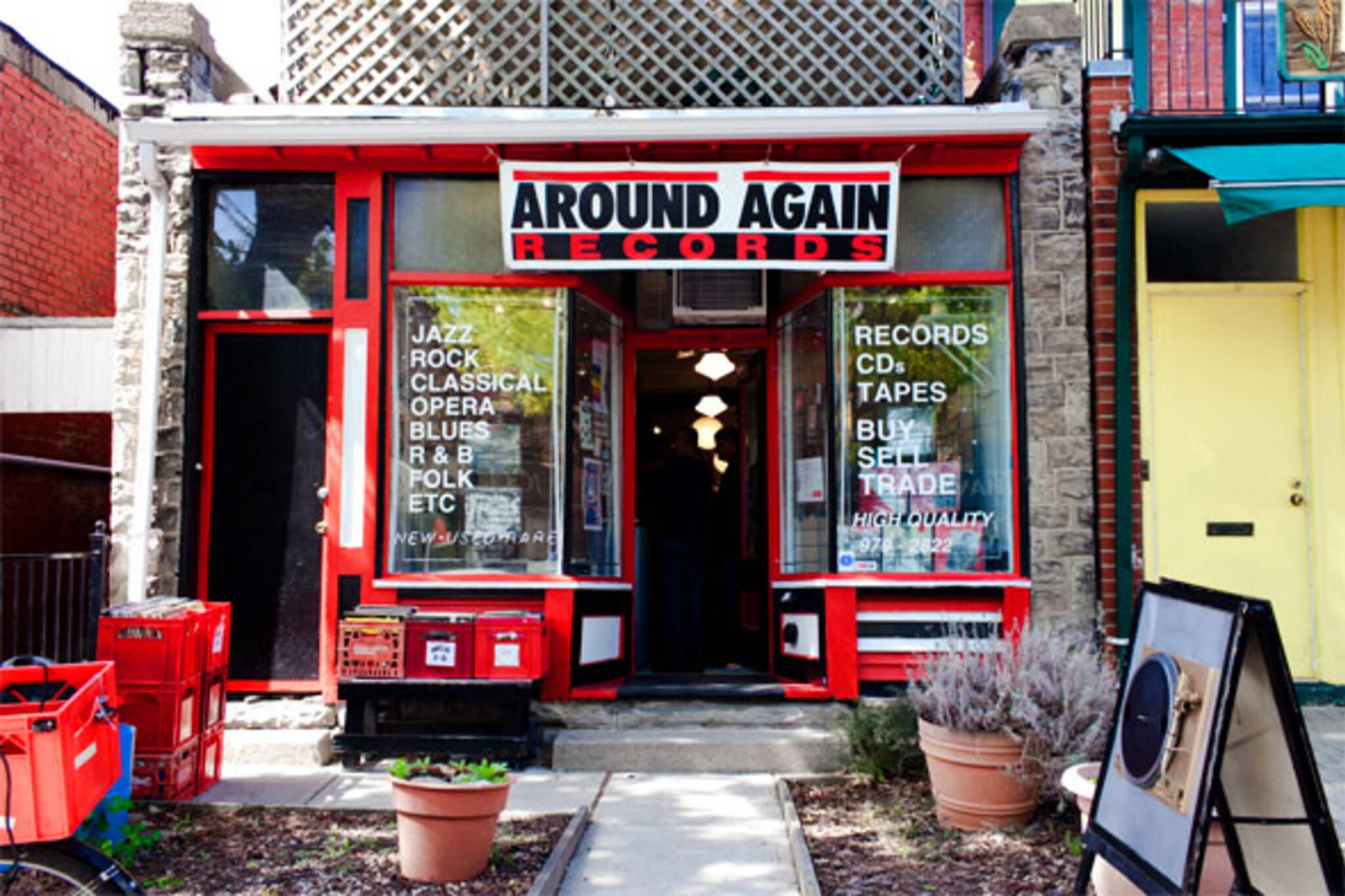Around again records