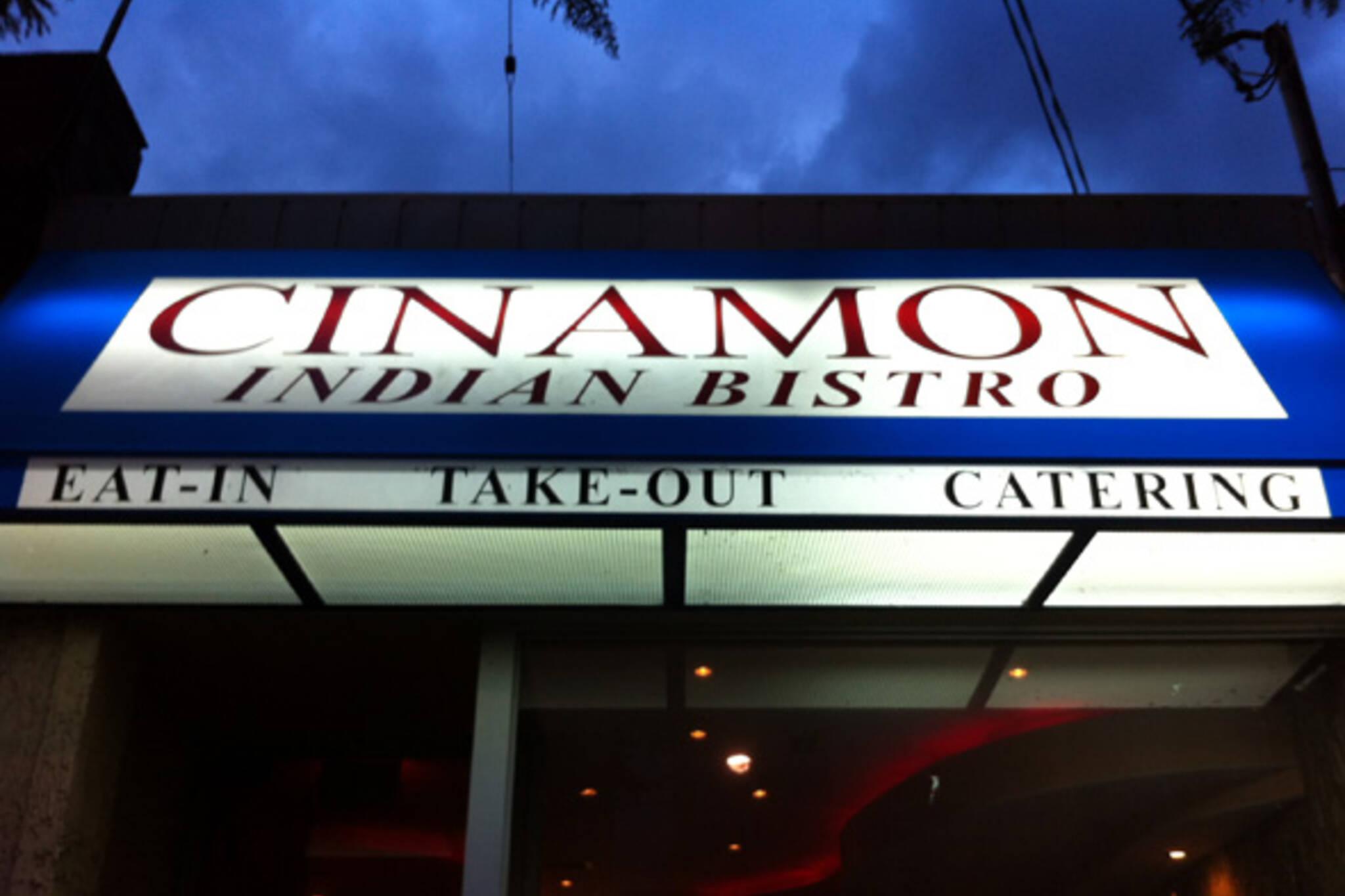 Cinamon Indian Bistro