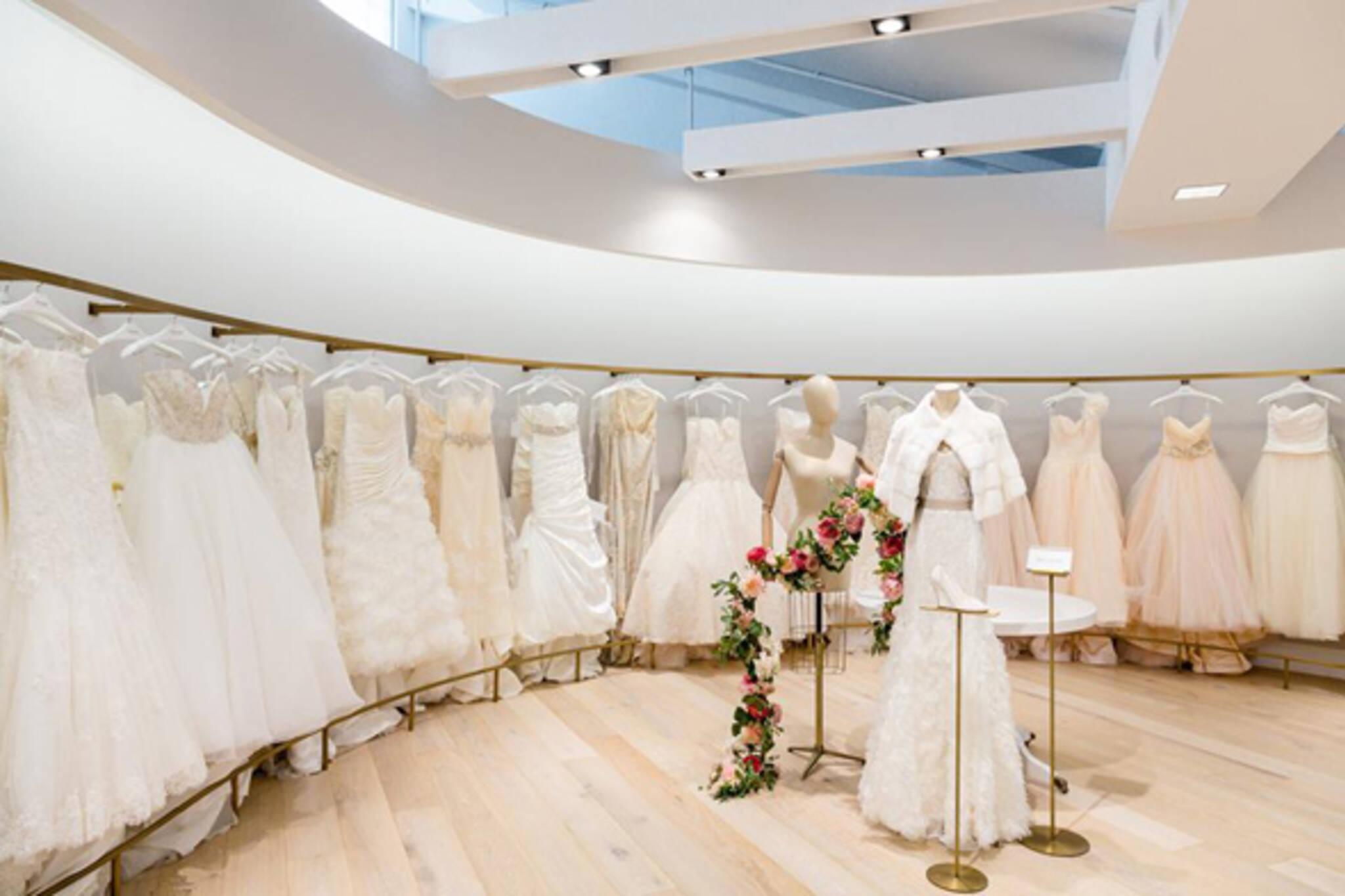 Kleinfeld bridal blogto toronto for Wedding dress shops new york