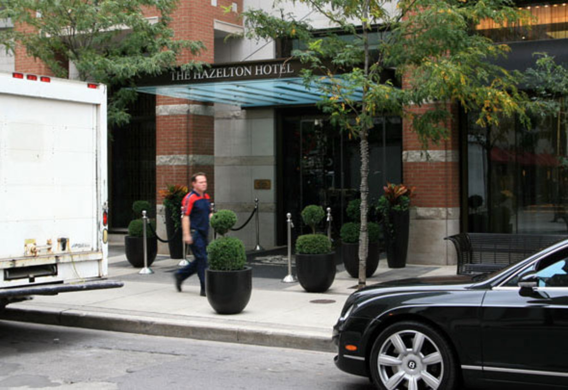 Hazelton Hotel Toronto