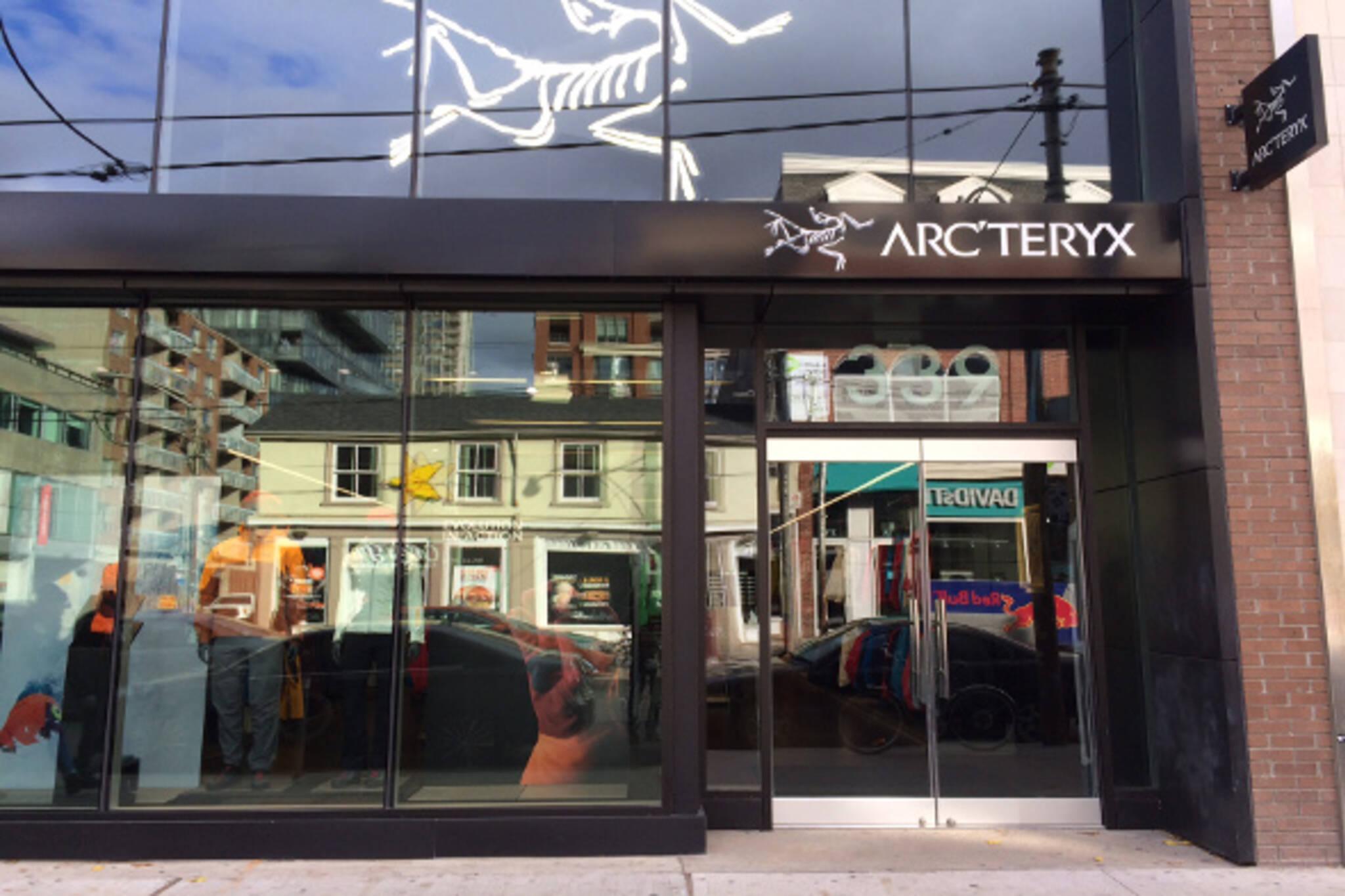 arcteryx outlet store toronto