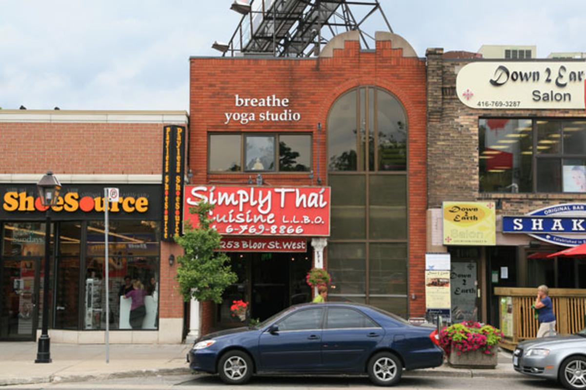 Breathe Yoga Studio Toronto