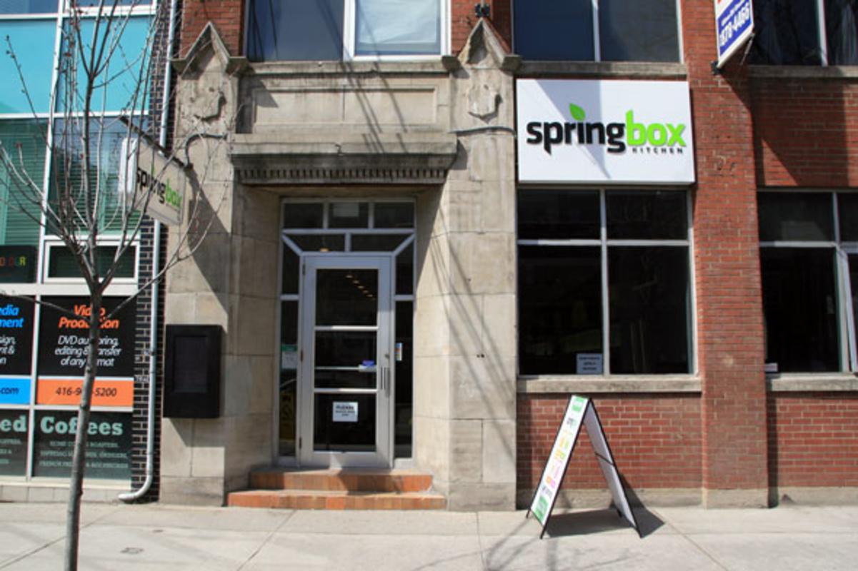 Springbox Kitchen Toronto