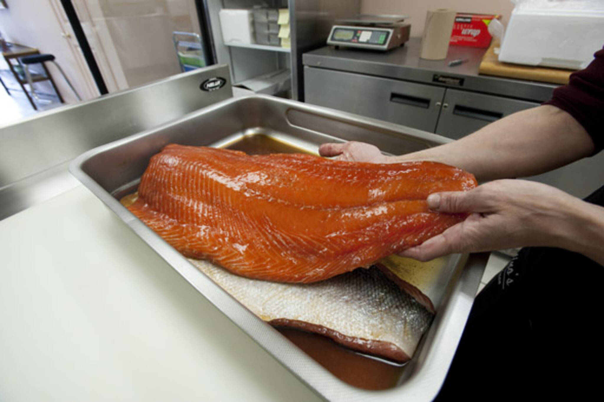 Valentino's Smokin Salmon