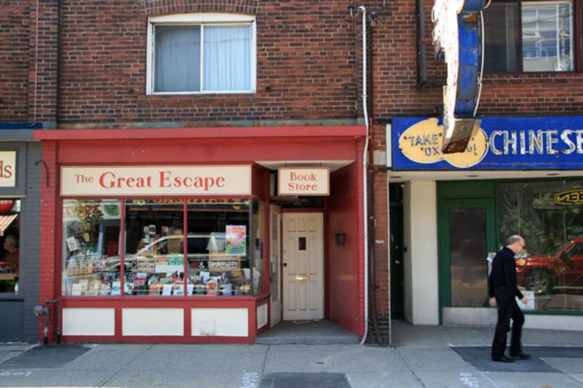 Great Escape Book store