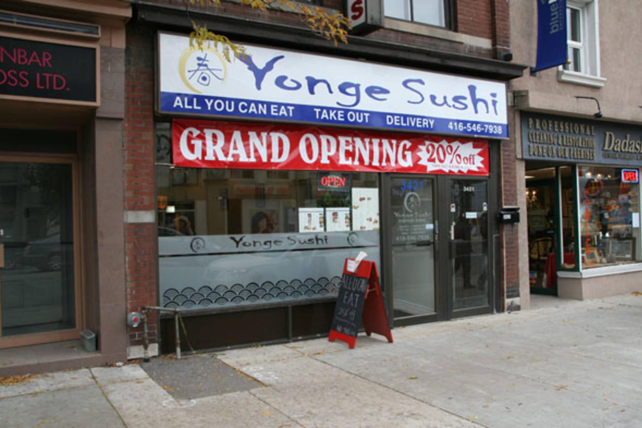 Yonge Sushi Toronto