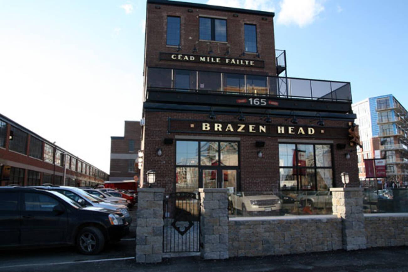 Brazen Head Blogto Toronto