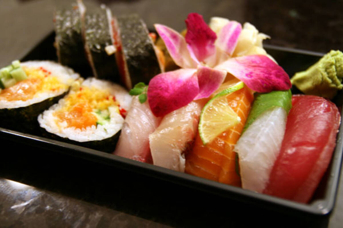 Sushi marche for Fish table sweepstakes near me