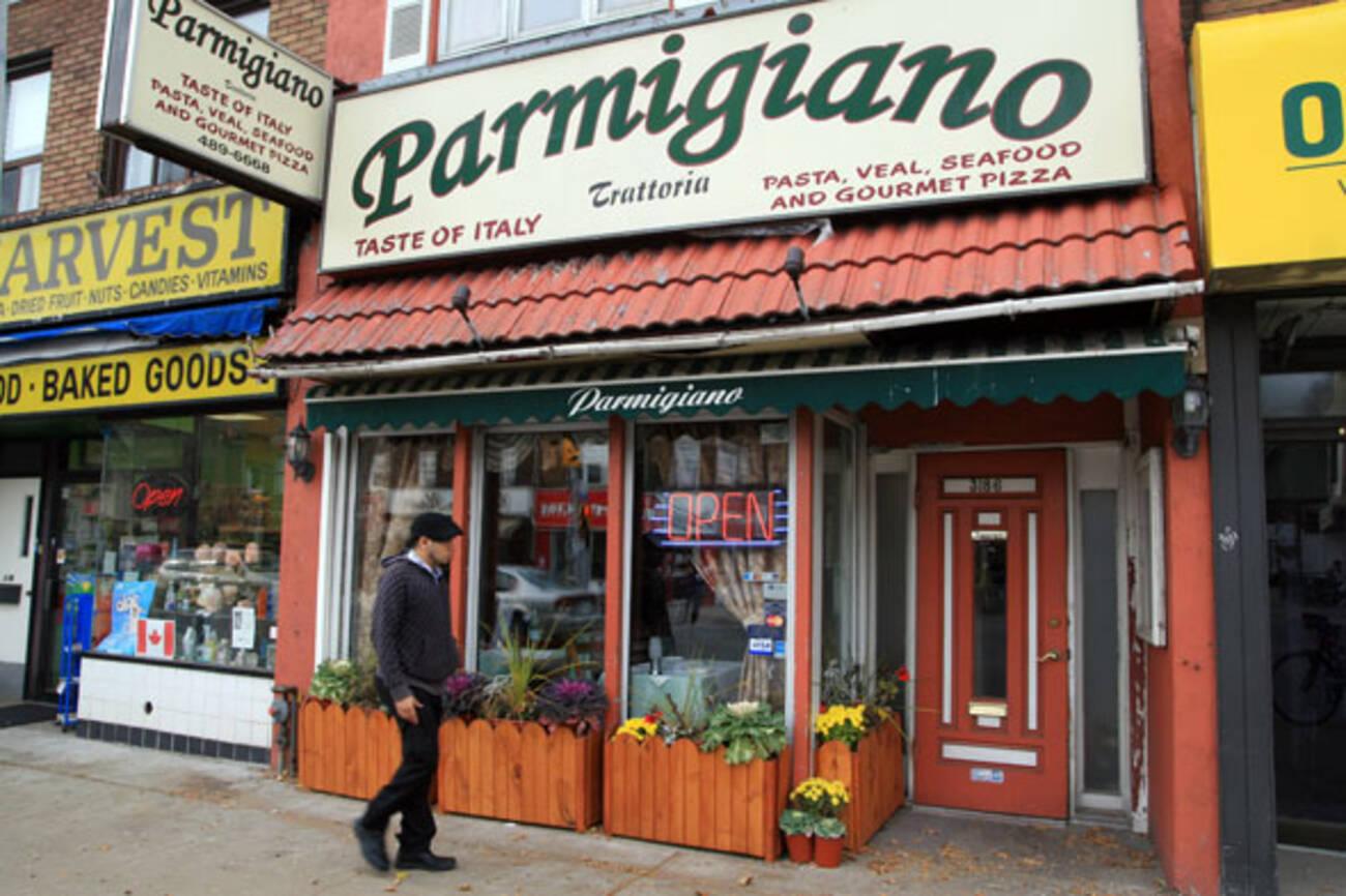Italian Restaurant Yonge And Lawrence