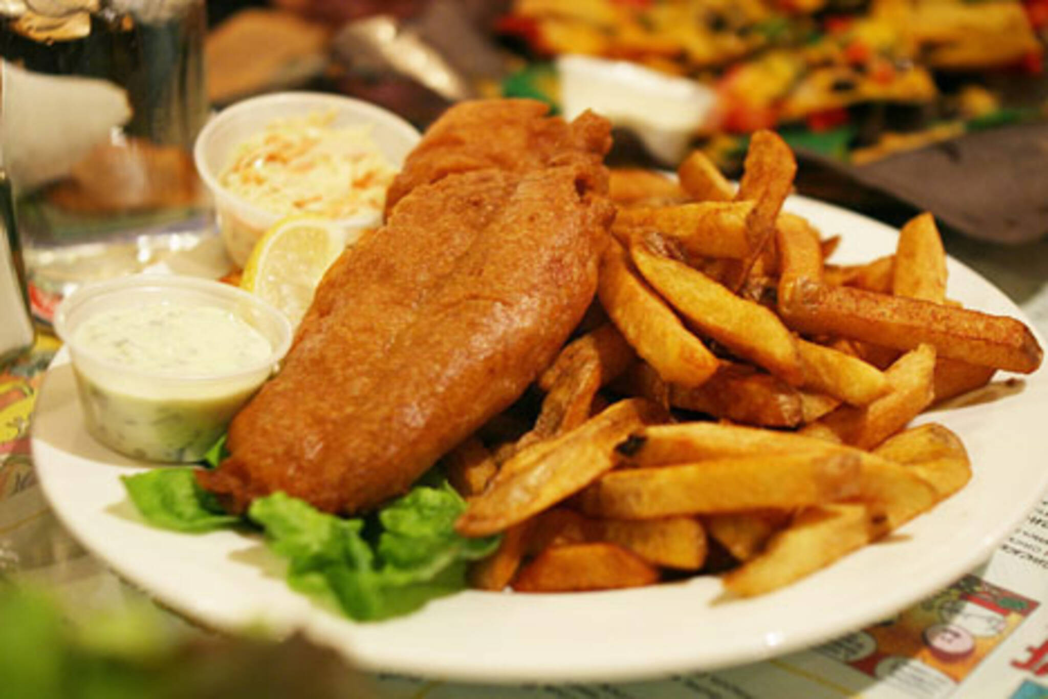 Fish n Chips at the Rex