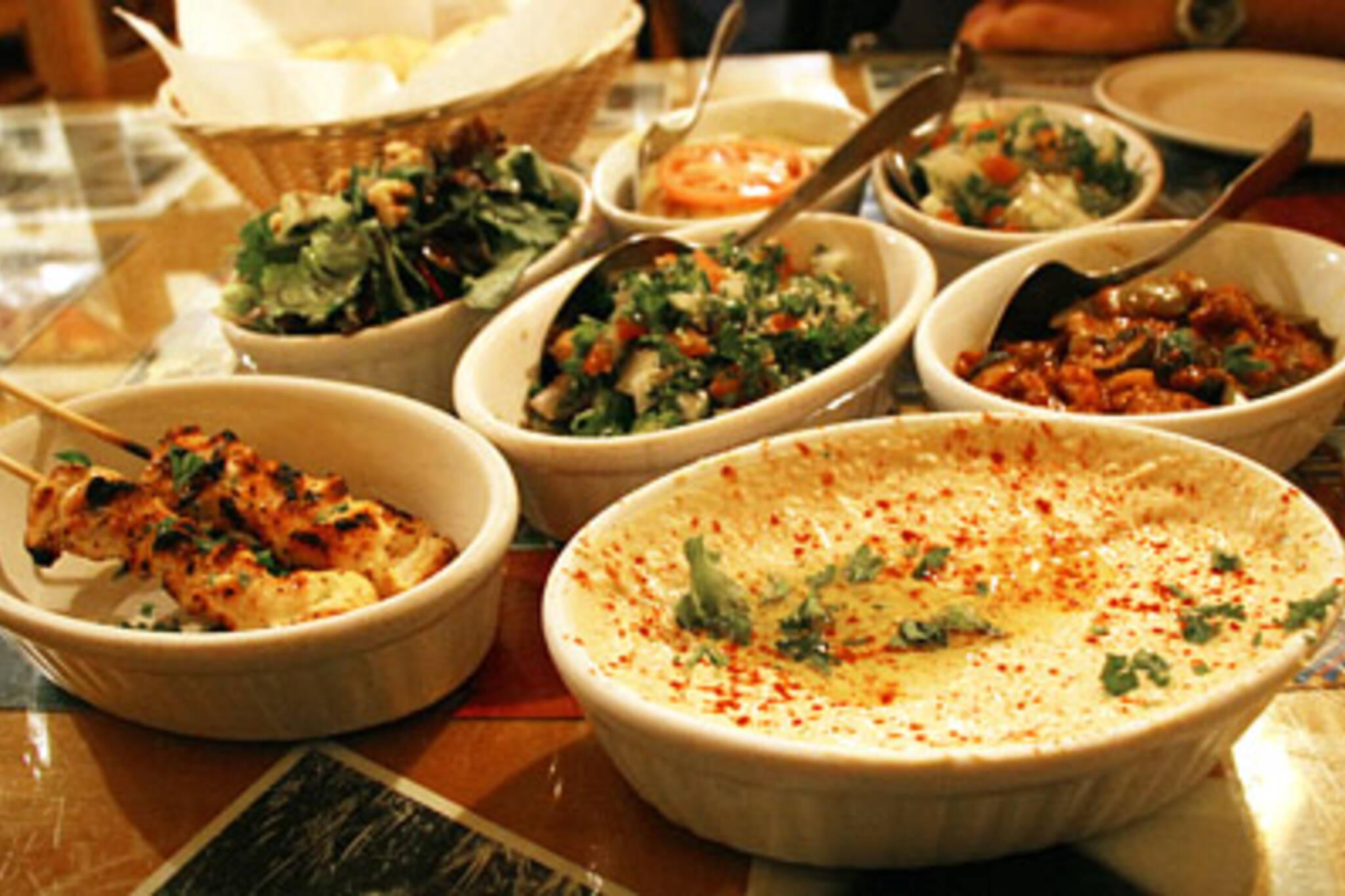 The spread at Mezzetta