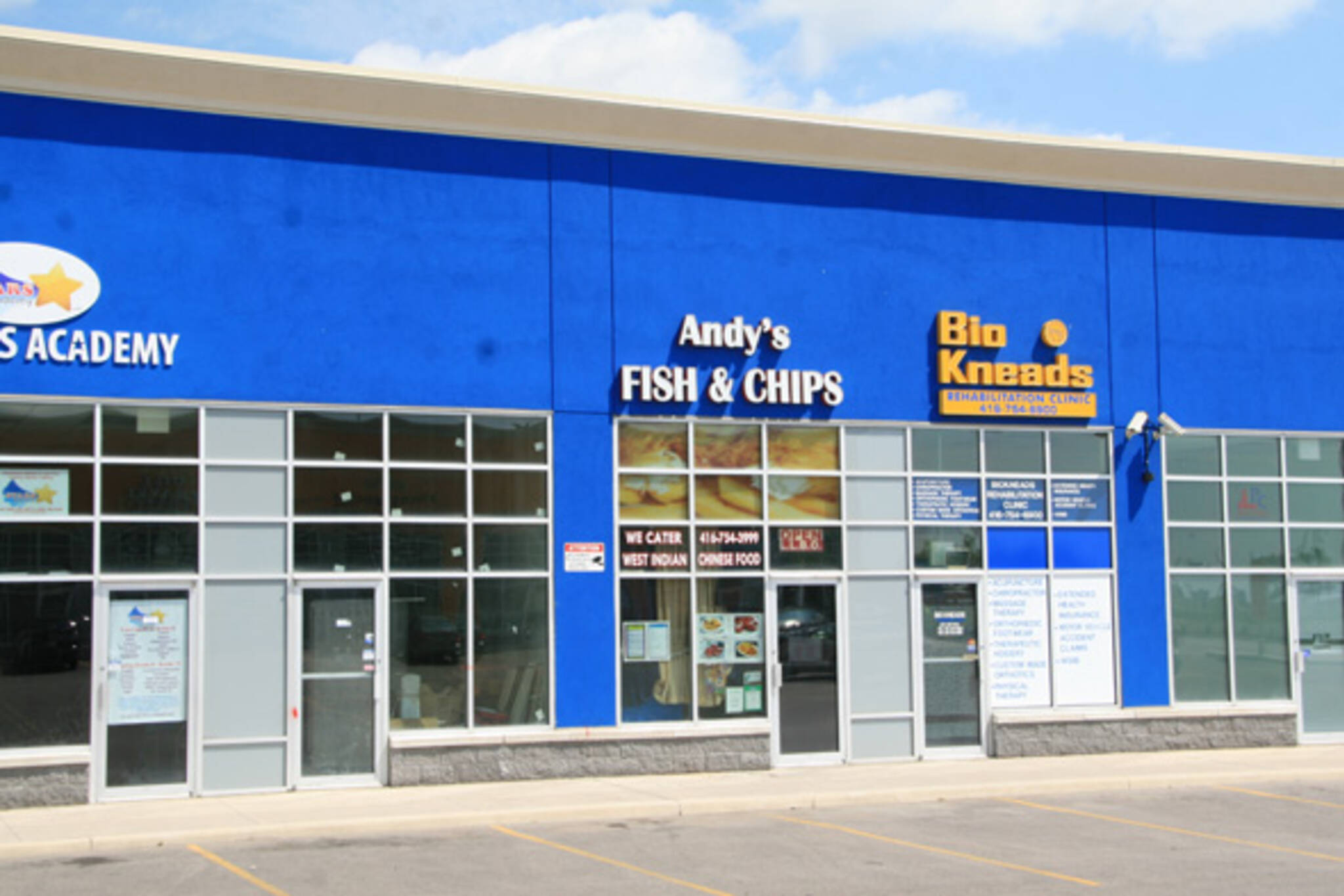 Andys Fish and Chips Toronto