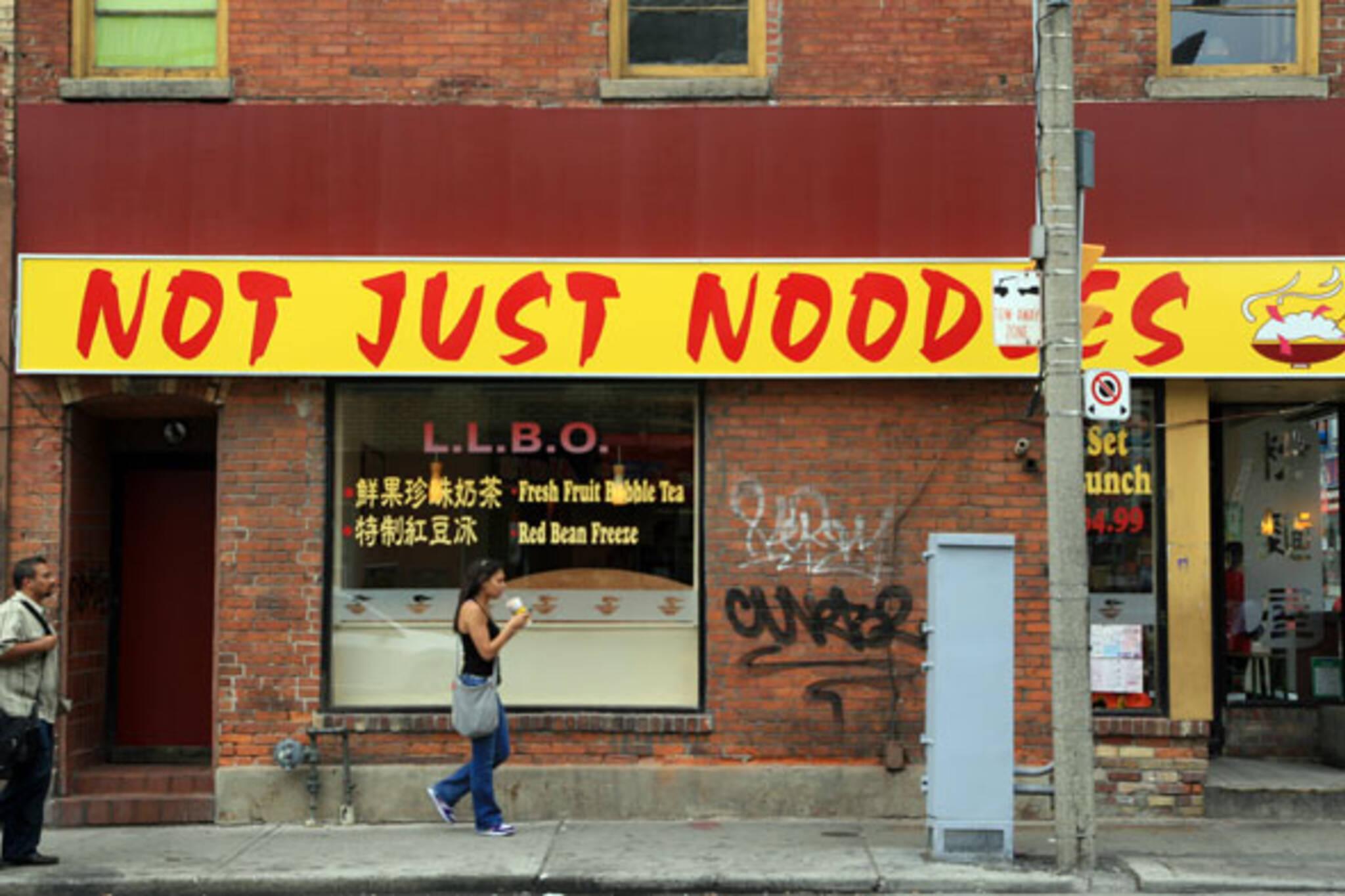 Not Just Noodles Toronto