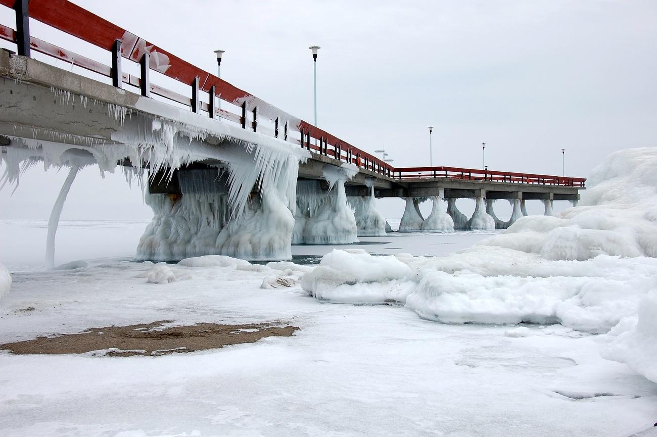 Toronto Islands Winter Wonderland