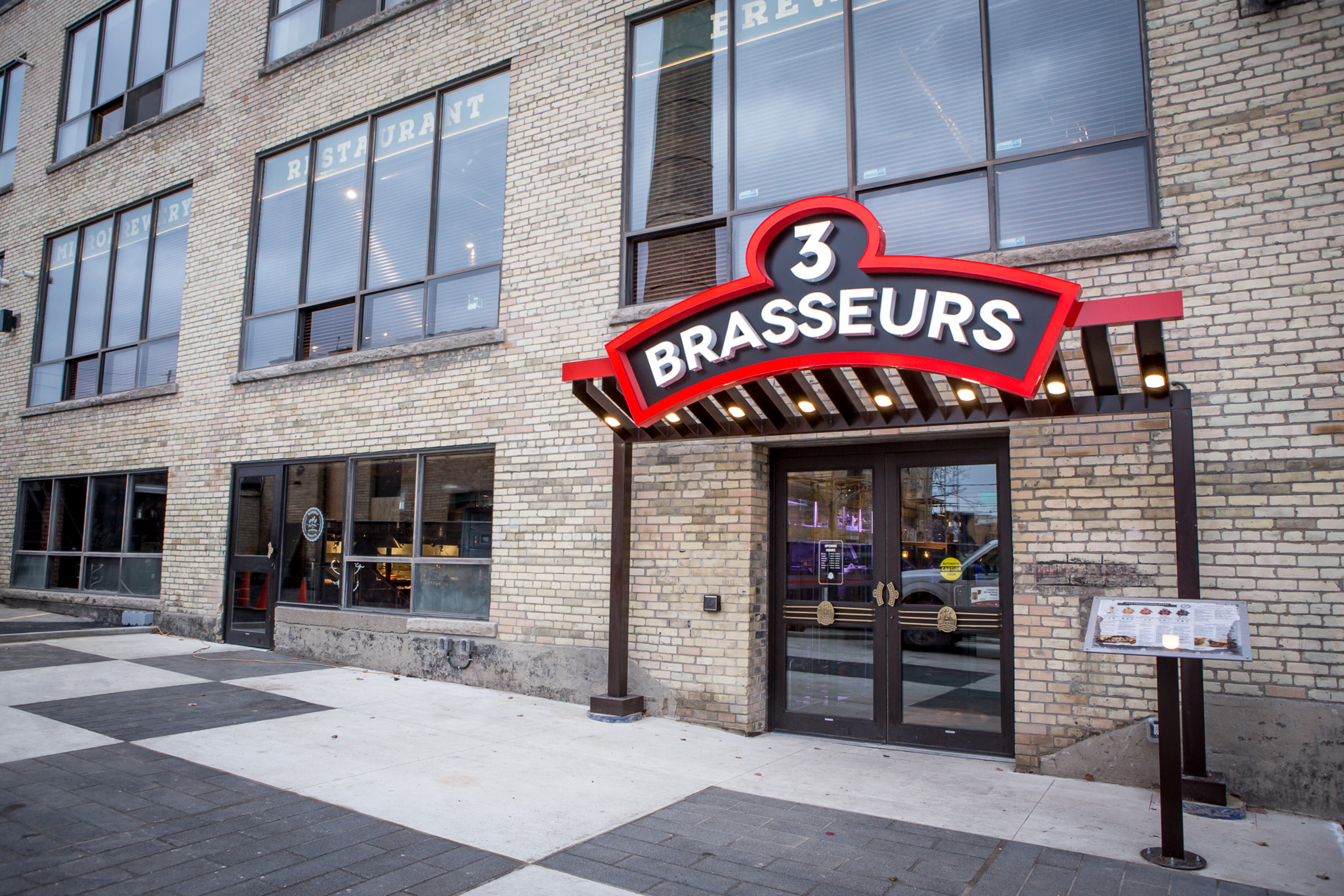 Three Brewers Liberty Village Toronto