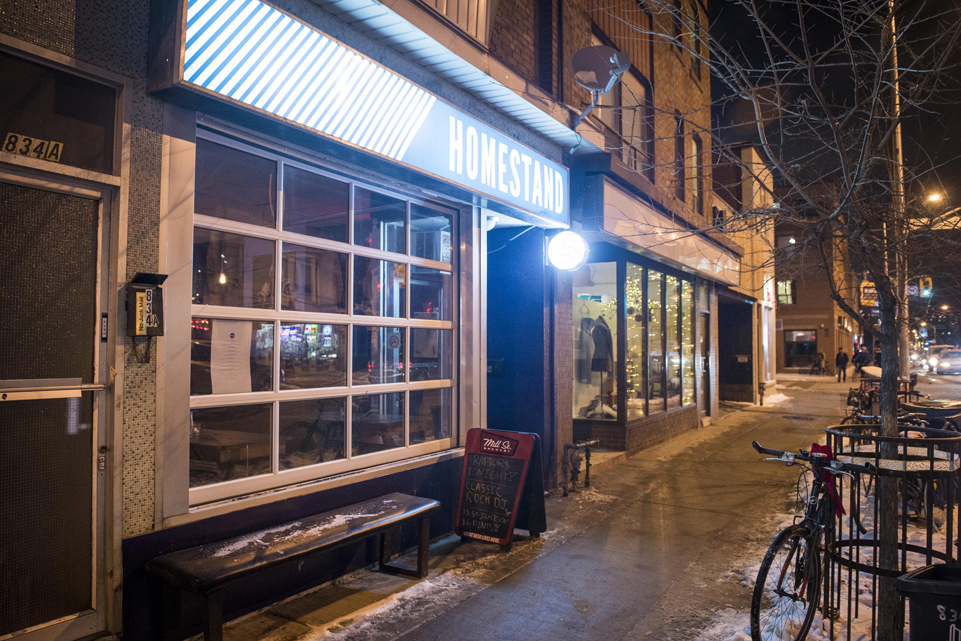 bar Homestand Toronto