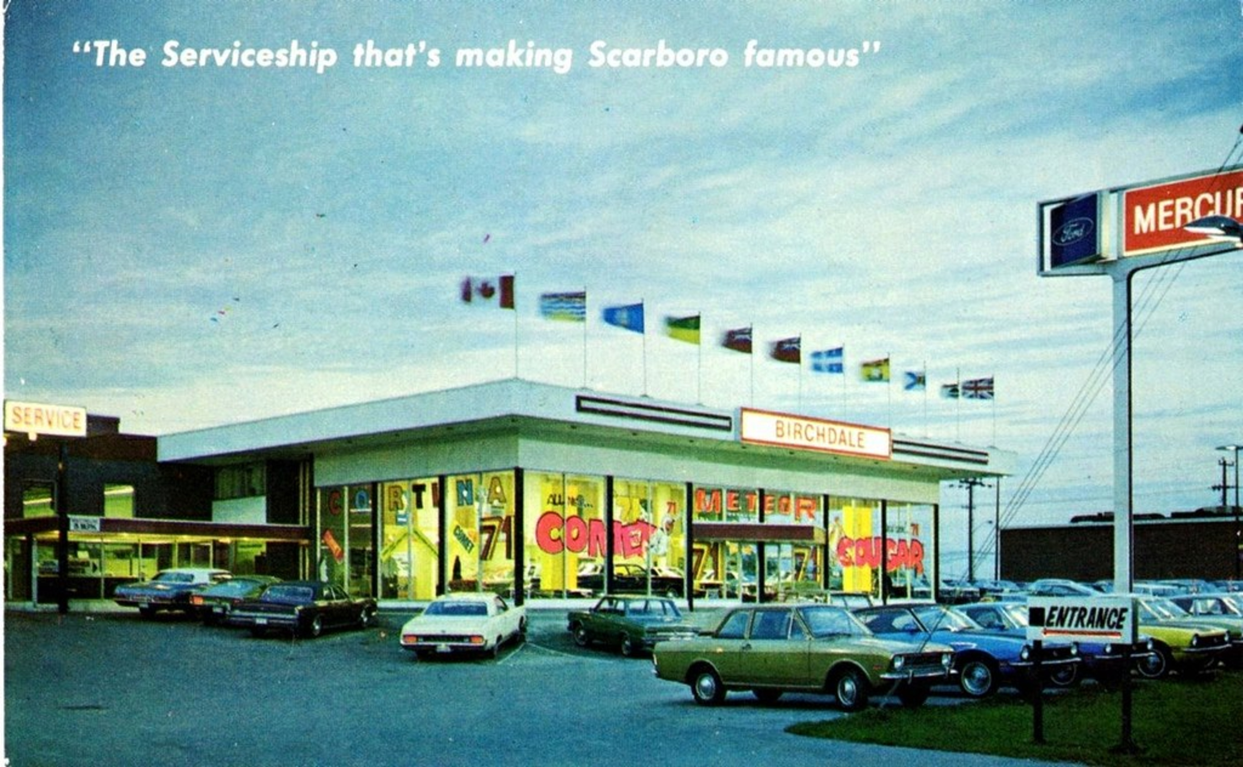 Hogan Chev Used Cars >> What car dealerships used to look like in Toronto