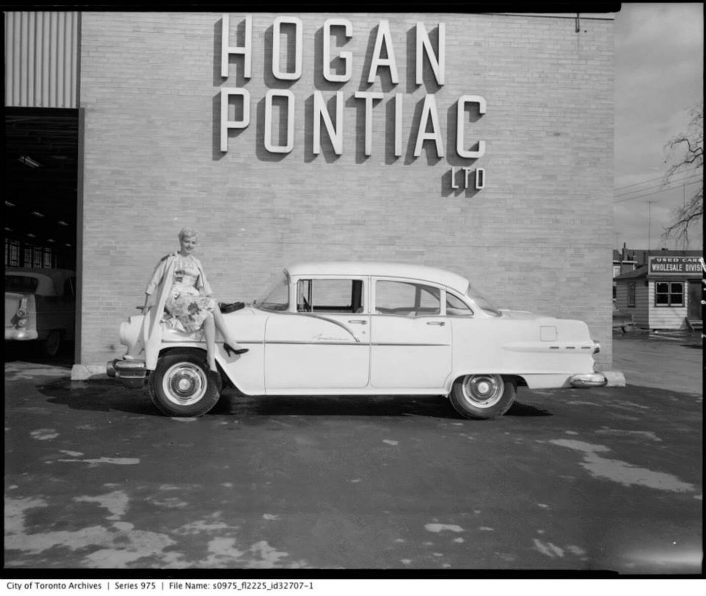 Vintage Pontiac Dealership