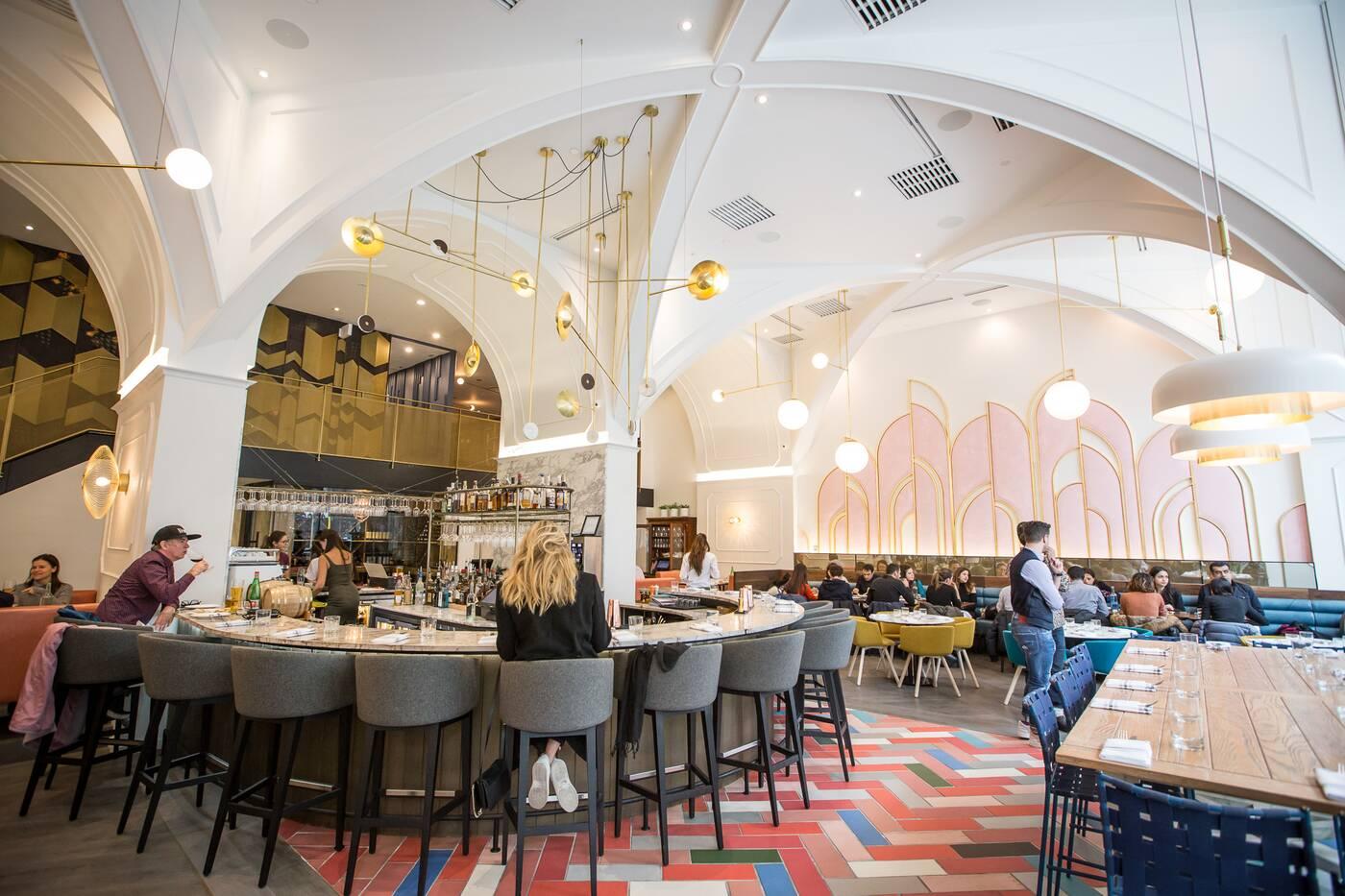 New restaurants with beautiful interior design in toronto