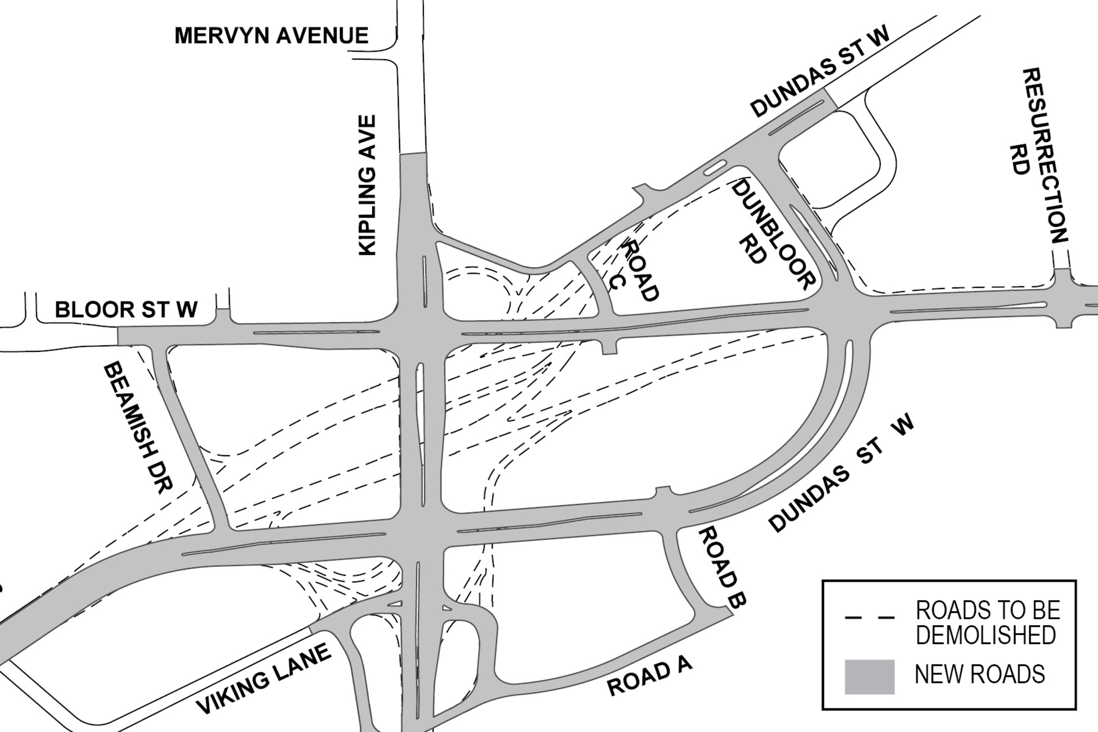 six points intersection rebuild