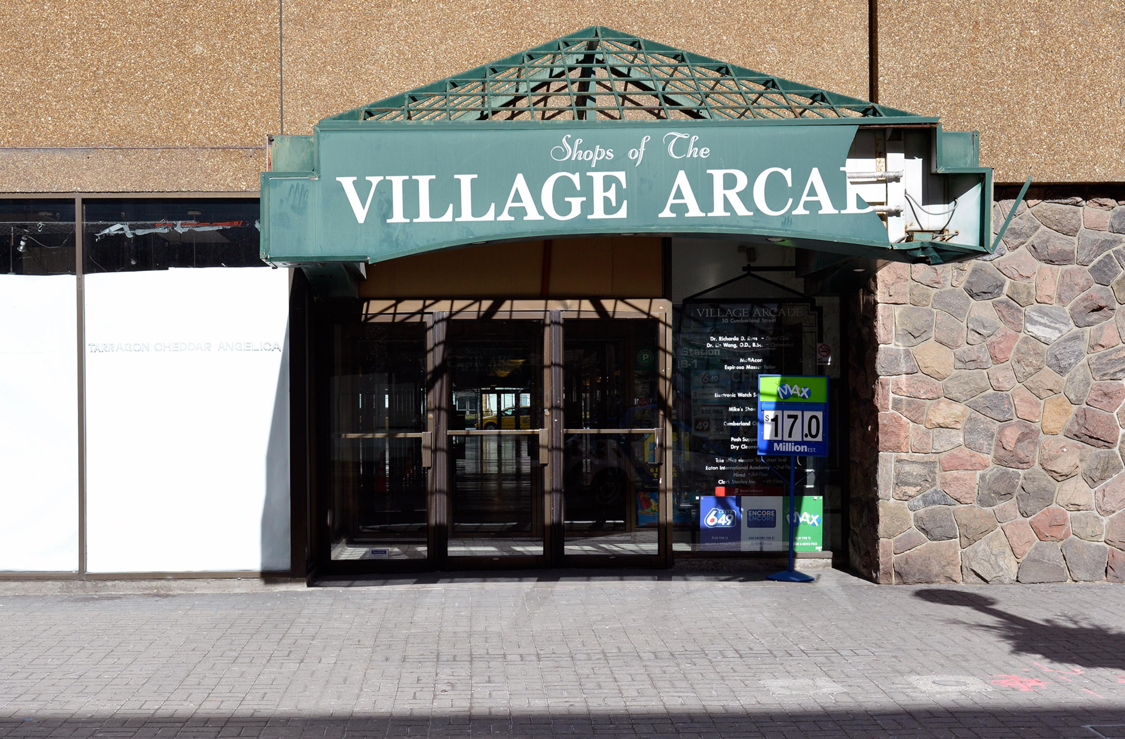 village arcade yorkville