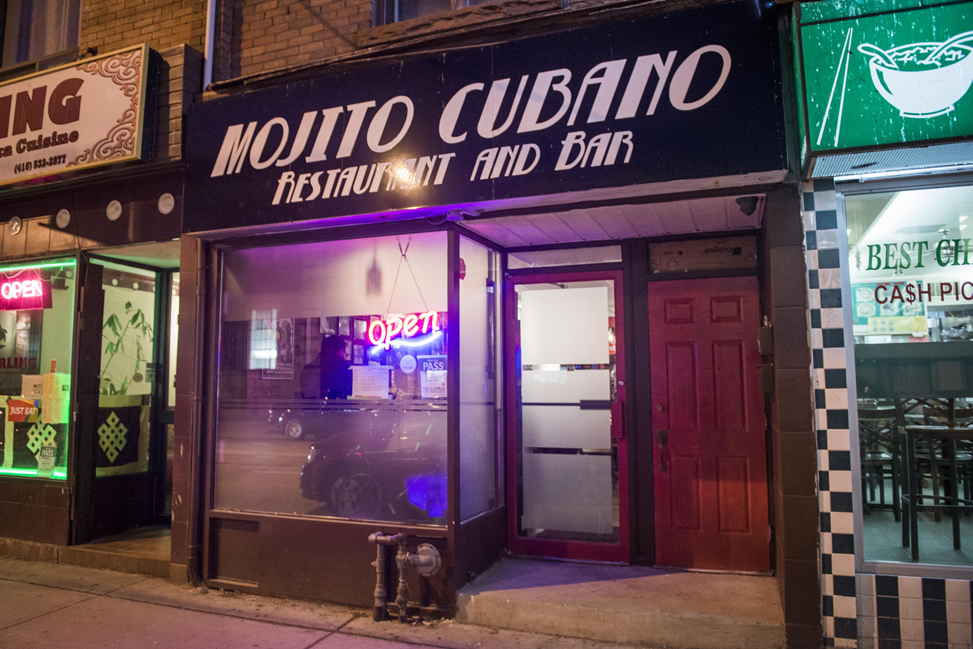Mojito Cubano Toronto