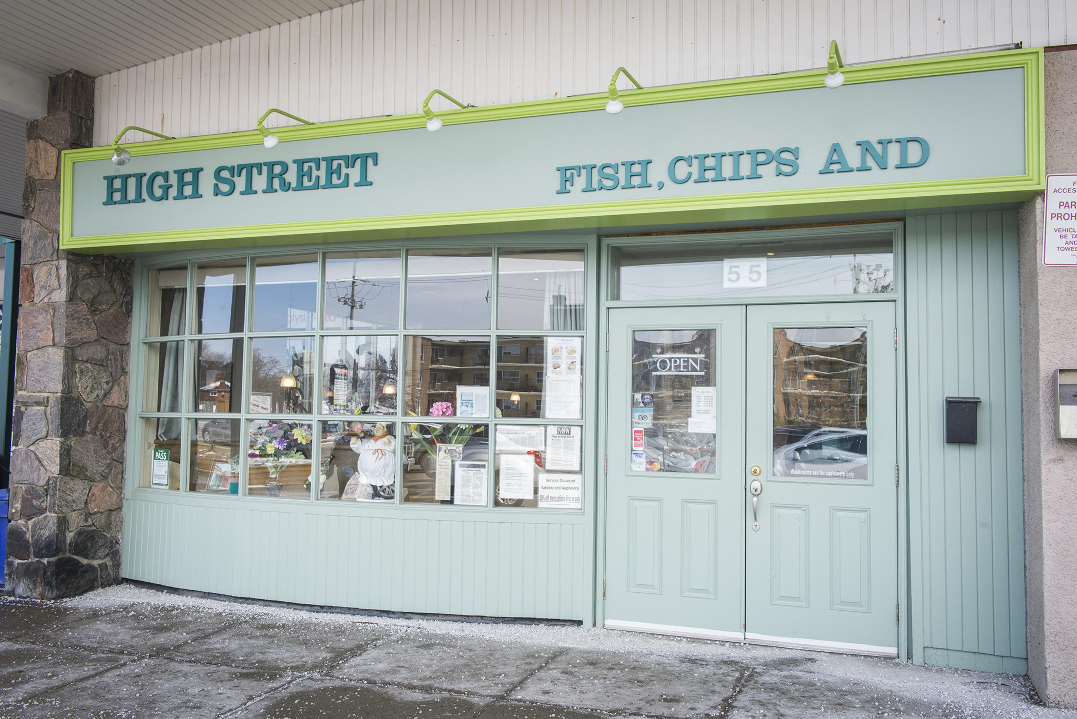 High Street Fish Chips Toronto