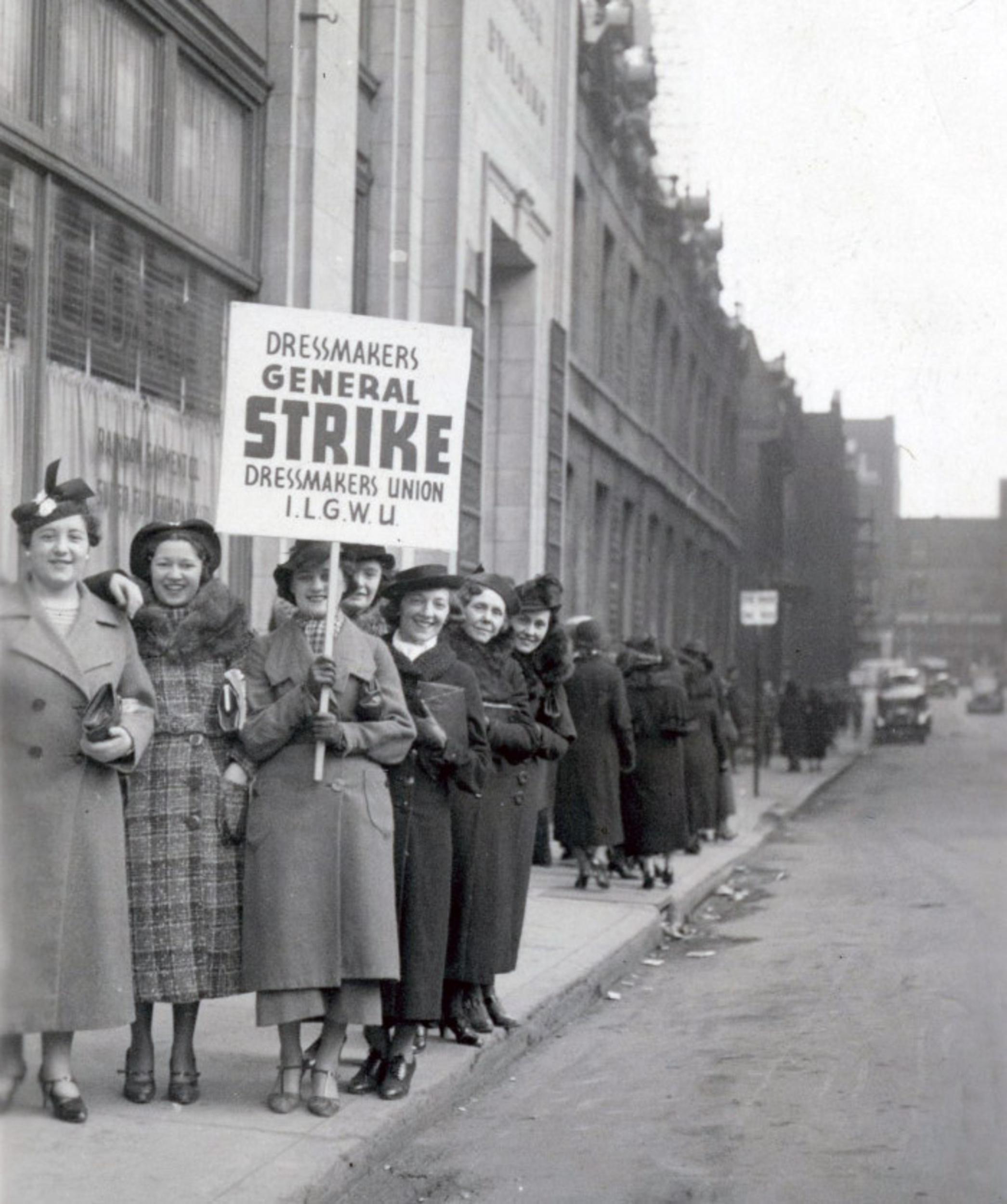 toronto garment workers strike