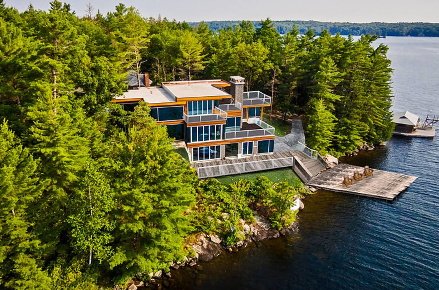 This is what a 10 million cottage near toronto looks like for What is a cottage