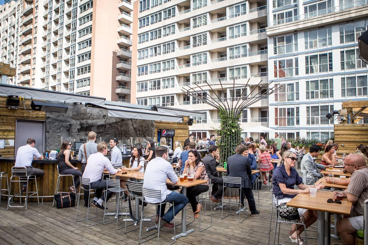 Rooftop Patio Restaurants Downtown Toronto
