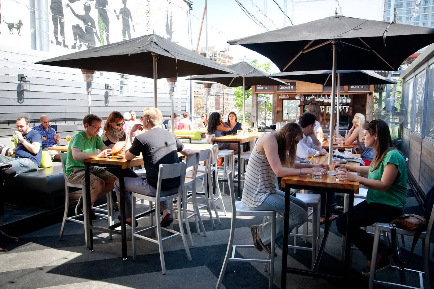 Toronto Outdoor Restaurant Patios