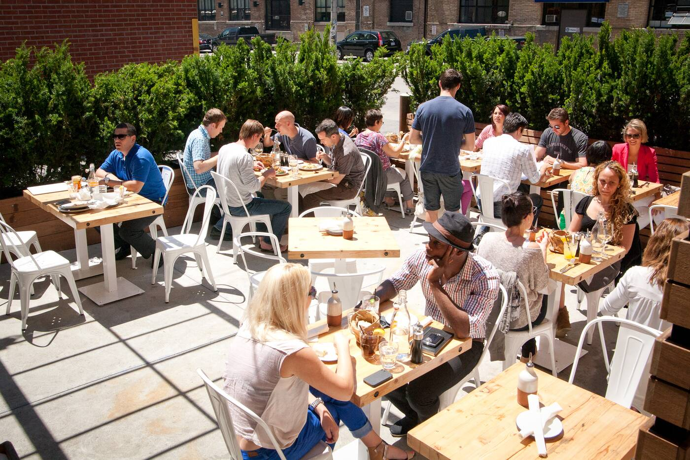 the best patios in toronto. Black Bedroom Furniture Sets. Home Design Ideas