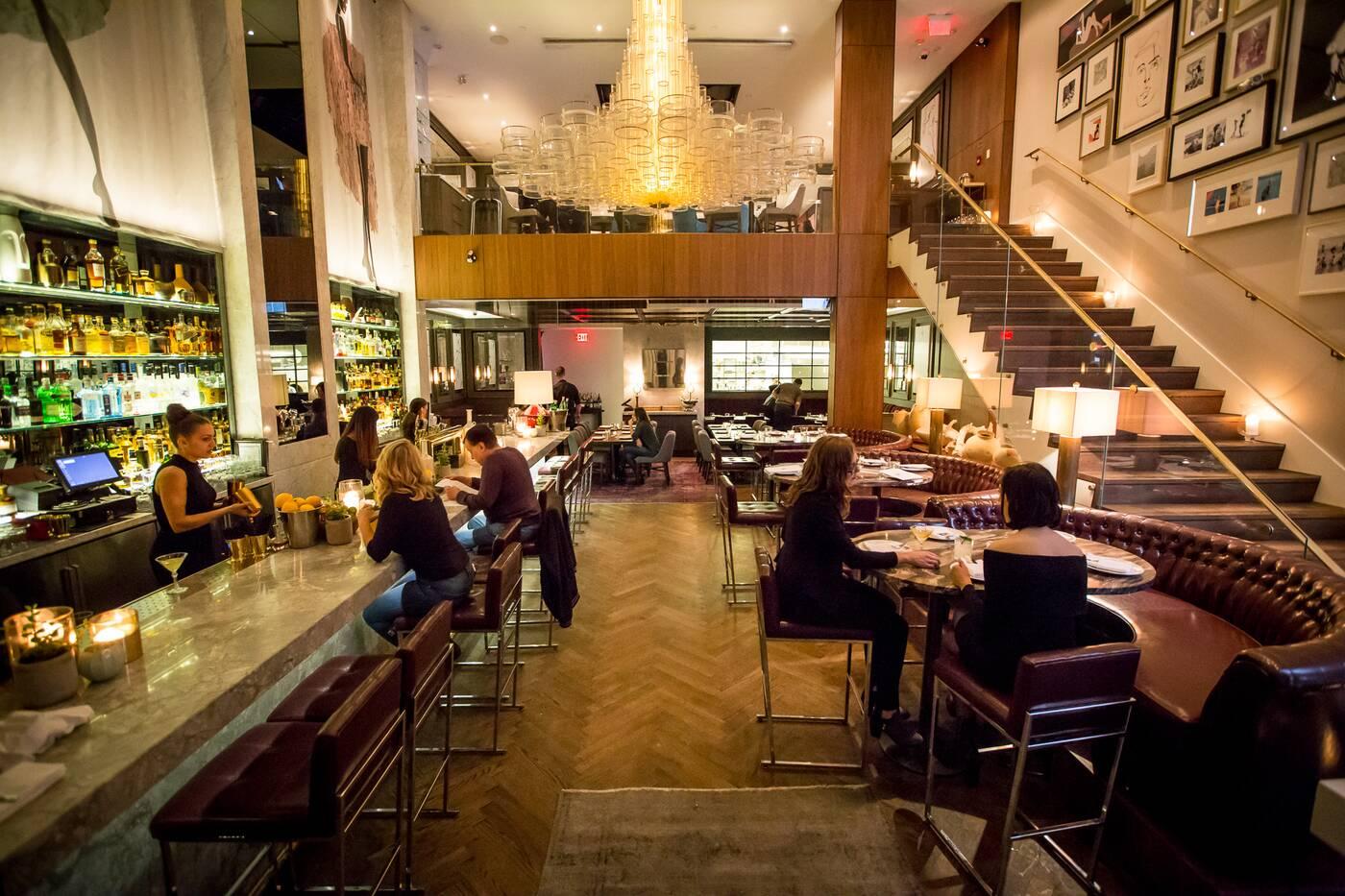 Restaurants with stunning interior design in toronto