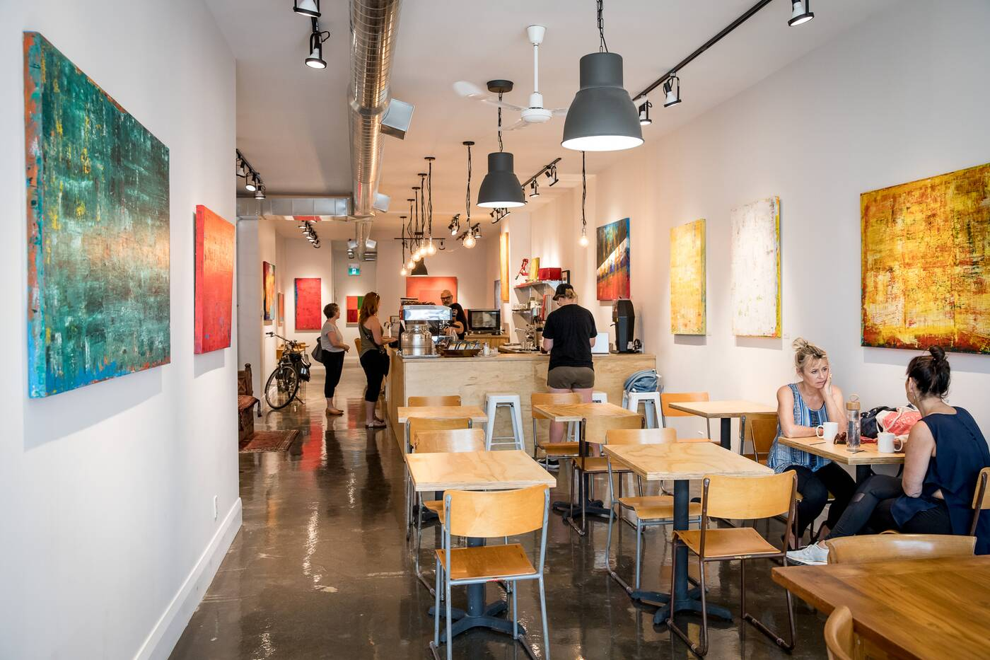 Zav Coffee Shop Amp Gallery Blogto Toronto