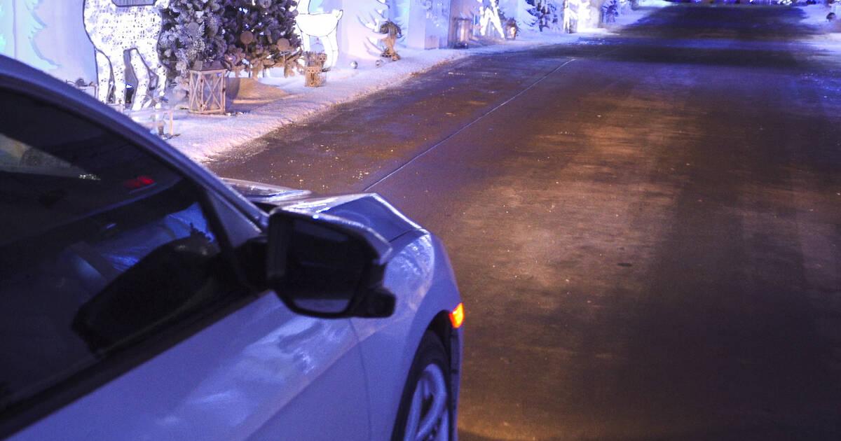 Polar Drive is a multi-storey holiday lights drive-thru near the Toronto airport