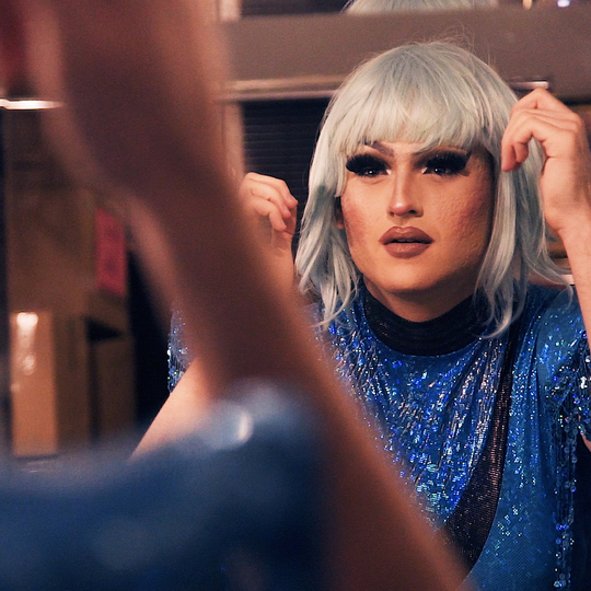 Toronto drag queen Erin Brockobic gets ready for a big show