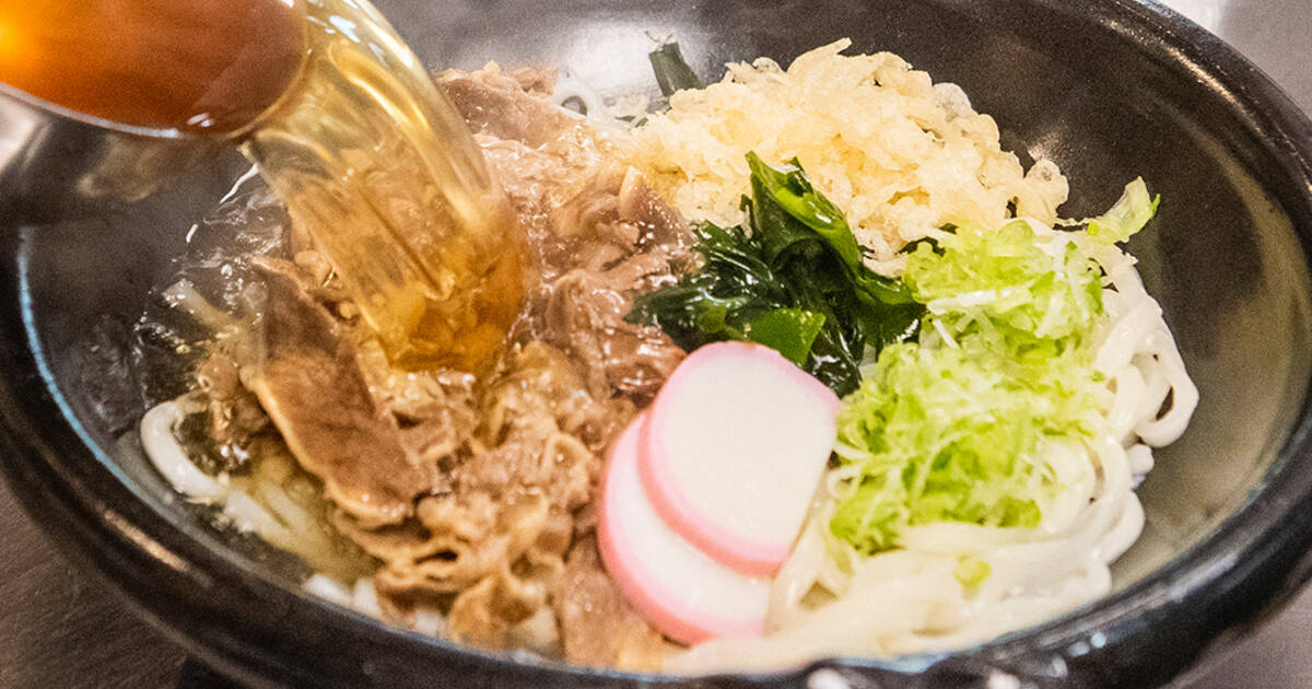 Zen Sanuki Udon in Toronto makes all of their noodles from scratch