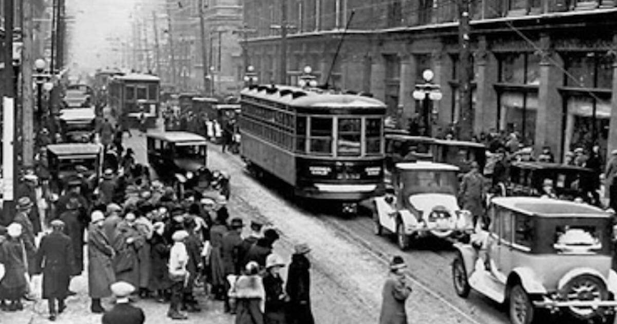 This is what Toronto looked like in the 1920s