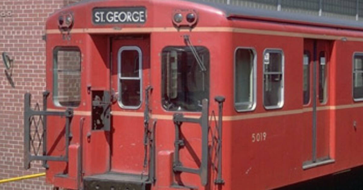 This is what TTC subways used to look like in Toronto