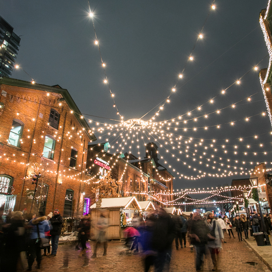 Toronto Christmas Market 2019 In The Distillery District