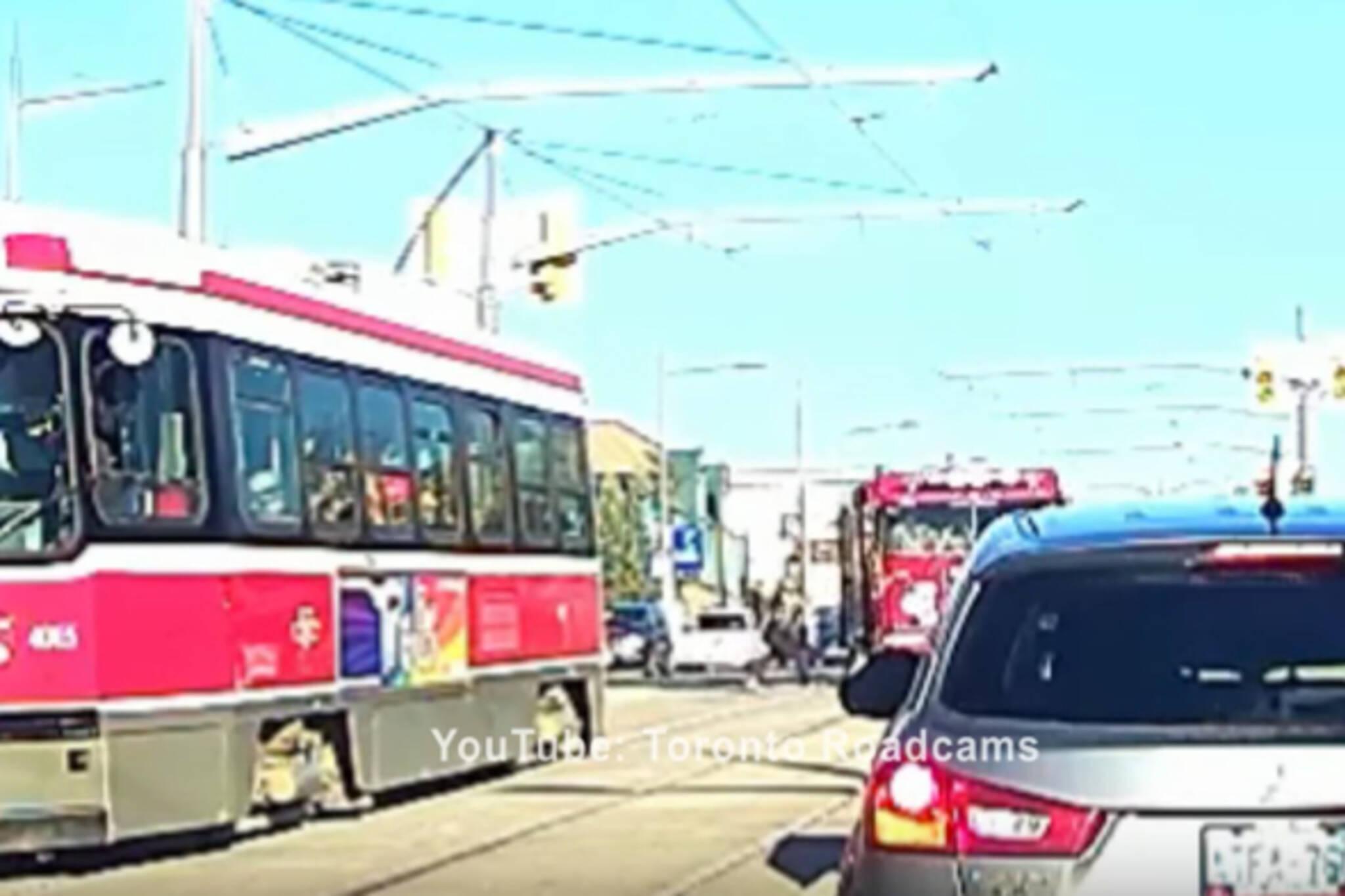 firetruck pedestrian toronto