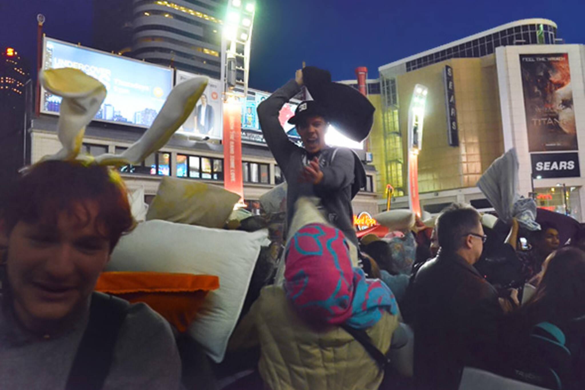 Toronto Pillow Fight 2012