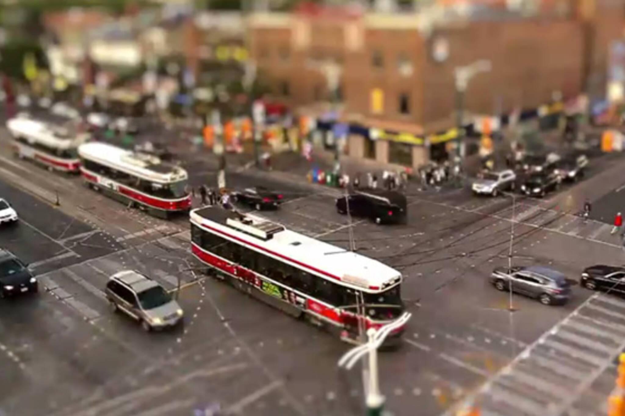 Tilt-shift Toronto video