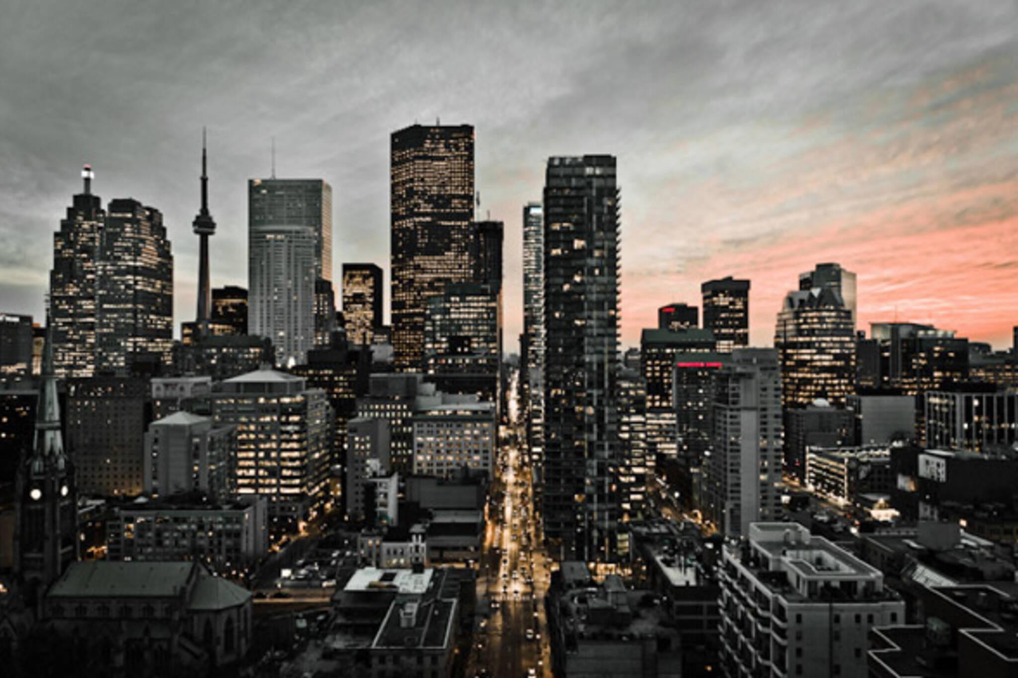 Toronto Sunset West