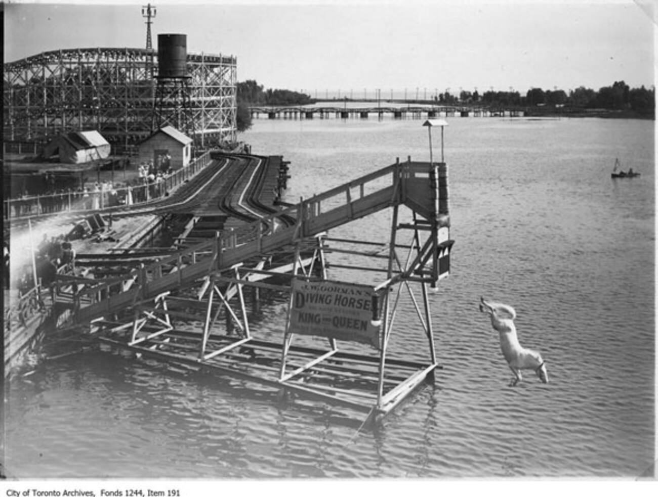 Why is this the most popular archival photo in Toronto?