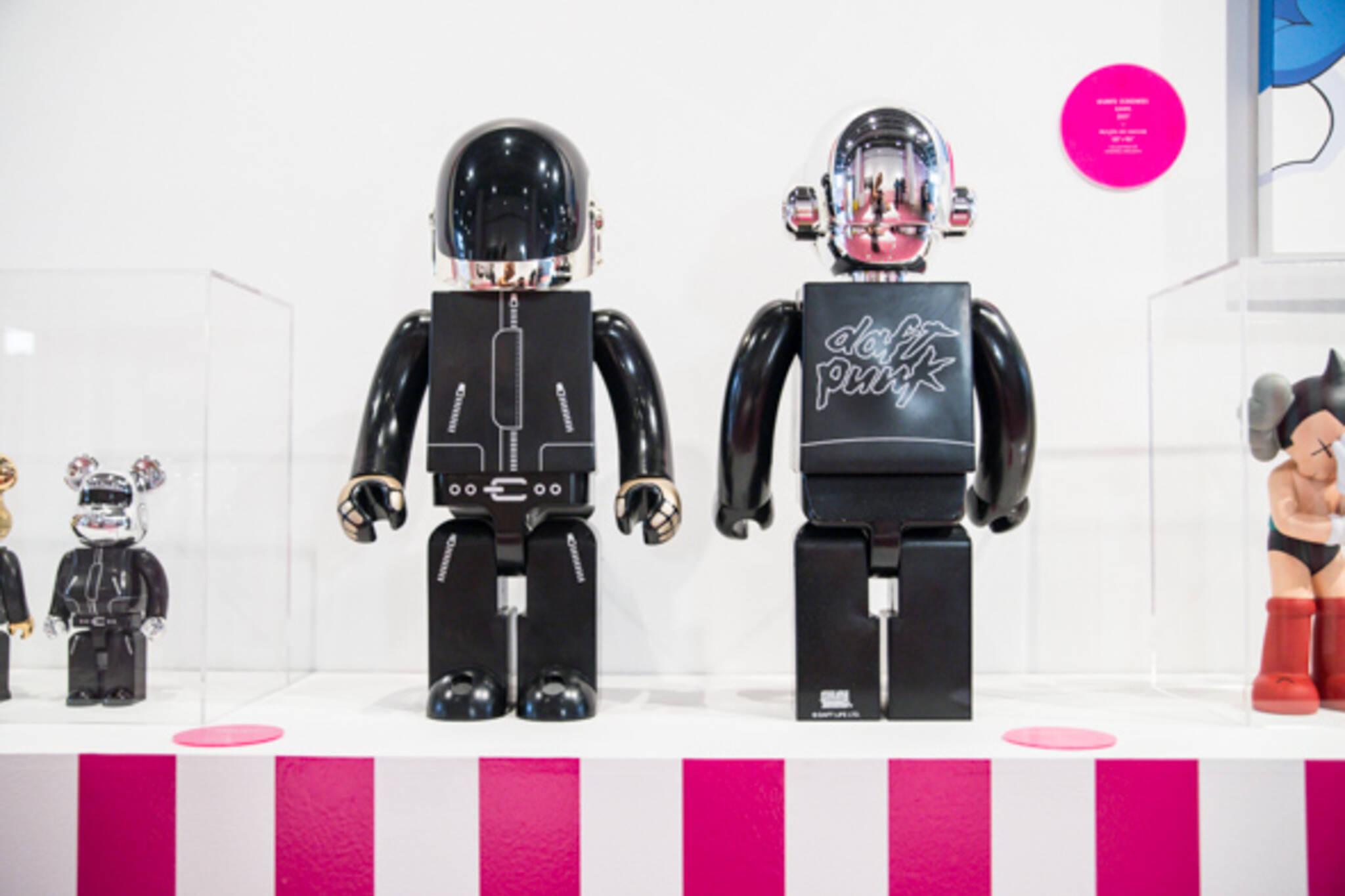 Vinyl art toy design exchange