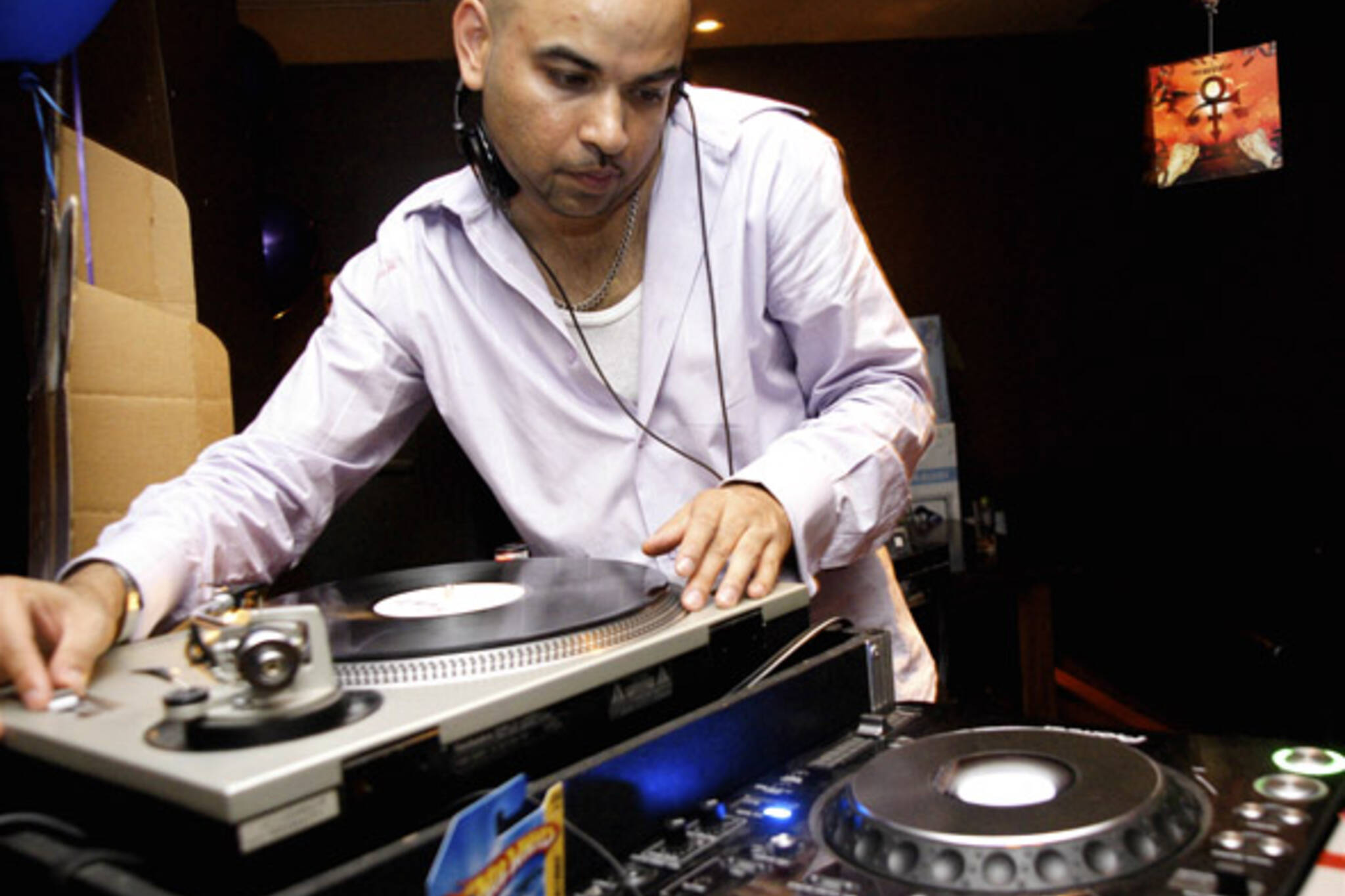 Pink + Purple DJ plays some Prince